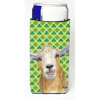 St Patricks Day Goat Michelob Ultra bottle sleeves For Slim Cans 12 oz.