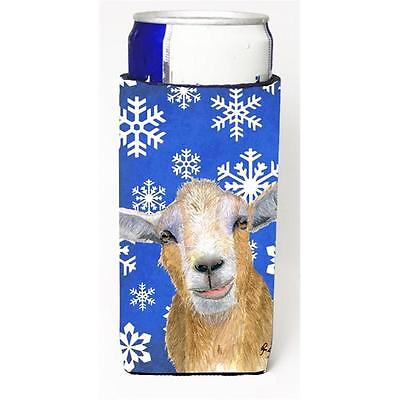 Winter Snowflakes Goat Winter Michelob Ultra bottle sleeves for slim cans 12 oz.
