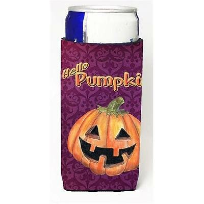 Hello Pumpkin Halloween Michelob Ultra bottle sleeves For Slim Cans 12 oz.