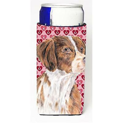 Brittany Hearts Love and Valentines Day Portrait Michelob Ultra bottle sleeve...