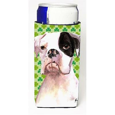 Cooper St Patricks Day Boxer Michelob Ultra bottle sleeve for Slim Can