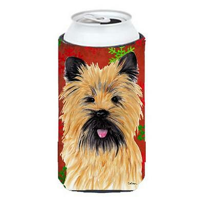 Carolines Treasures Cairn Terrier Snowflakes Holiday Christmas Tall Boy Hugger