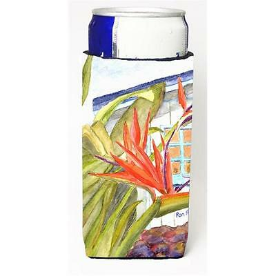 Flower Bird Of Paradise Michelob Ultra bottle sleeve for Slim Can