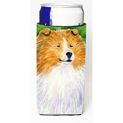 Carolines Treasures Sheltie Michelob Ultra bottle sleeves For Slim Cans