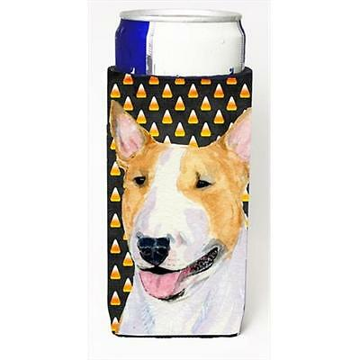 Bull Terrier Candy Corn Halloween Portrait Michelob Ultra bottle sleeves For ...