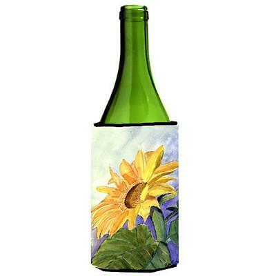 Carolines Treasures RDR2001LITERK Flower Sunflower Wine bottle sleeve Hugger