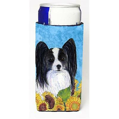 Papillon In Summer Flowers Michelob Ultra bottle sleeves For Slim Cans 12 oz.