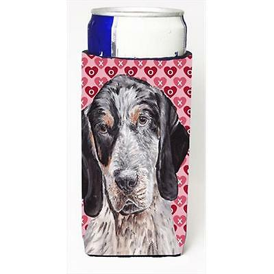 Blue Tick Coonhound Hearts And Love Michelob Ultra bottle sleeves Slim Cans 1...