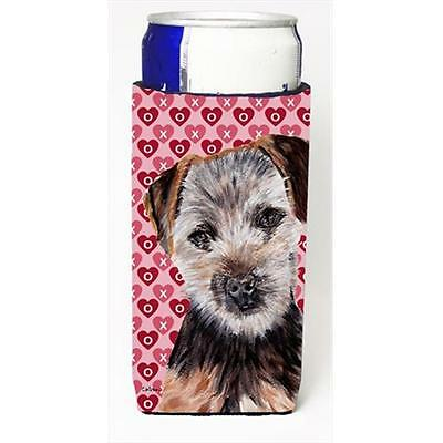 Norfolk Terrier Puppy Hearts And Love Michelob Ultra bottle sleeves Slim Cans...