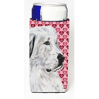 Great Pyrenees Hearts And Love Michelob Ultra bottle sleeves Slim Cans 12 Oz.