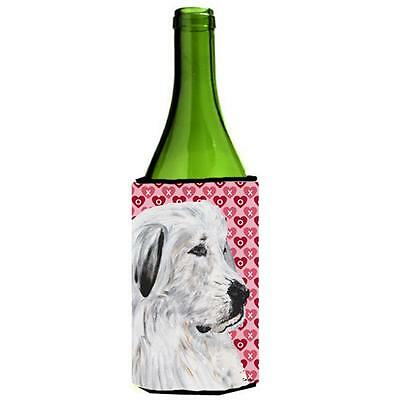 Great Pyrenees Hearts And Love Wine bottle sleeve Hugger 24 Oz. • AUD 48.26