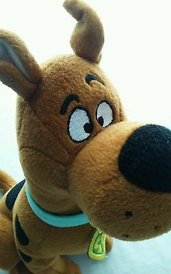 """Cartoon Network Scooby Doo Plush 12"""" Sitting Pre Owned"""