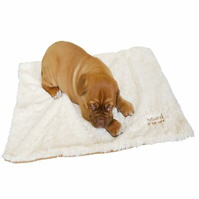 Rosewood Natural Nippers Luxury Soft Puppy Small Dog Blanket Puppy Bed