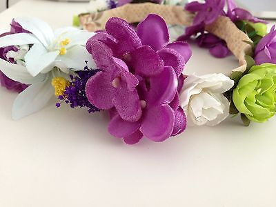 [Charming Charlie]Flower Crown/floral/headband/bridal/cocktail accessories