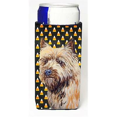 Cairn Terrier Candy Corn Halloween Portrait Michelob Ultra bottle sleeves For...
