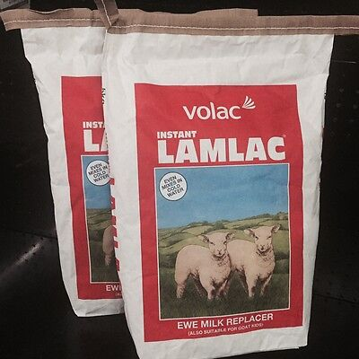 10 Kg Volac Lamlac Lamb Milk Replacer Powder Also For Goat Kids X 10 Kg