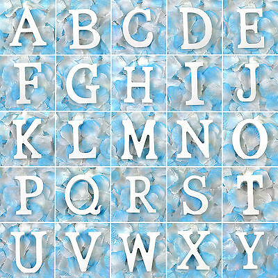 1PC Wooden Wood Letter Alphabet Word Free Standing Wedding Party Home Shop Decor