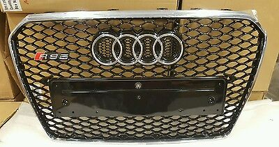 AUDI RS5 GRILL A5 TO RS5 S5, High quality, 2012 + FACELIFT NEW SHAPE, chrome tri