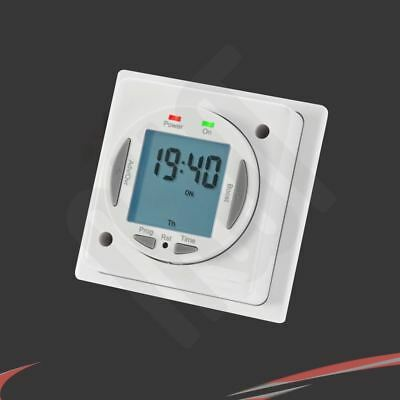 """Digital Socket Box """"On/Off"""" 7 day / 24hr Electrical Programmable Timer"""