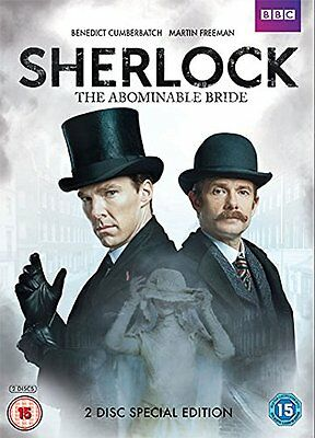 SHERLOCK - The Abominable Bride SEALED/NEW dvd 2015 Christmas Special Special Ed
