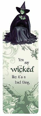 Wizard Of Oz Wicked Witch Bookmark Glitter You Say Wicked Like Its A Bad Thing