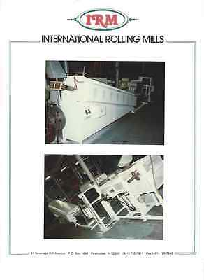 IRM 9' Quick Quench Strip Annealing Furnace with Double Muffles and Recoilers