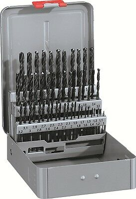 Alpen 50pc HSS Sprint Jobber Drill Set