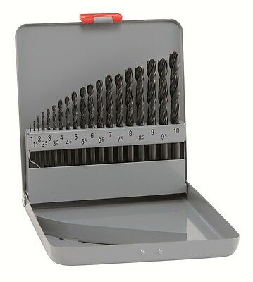 Alpen 19pc HSS Sprint Jobber Drill Set