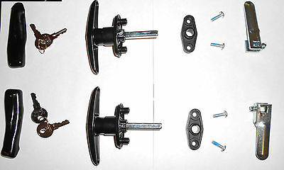 Truck Cap,Topper, T-Handles  Locks w/  Parts ( Complete Set)