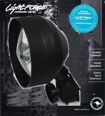 Lightforce Nighthunter Predator 110mm 30w Globe Firearm Mount Spotlight NHPRED