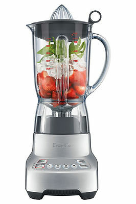 NEW Breville BBL405 The Kinetix Twist Blender: Polished Stainless Steel