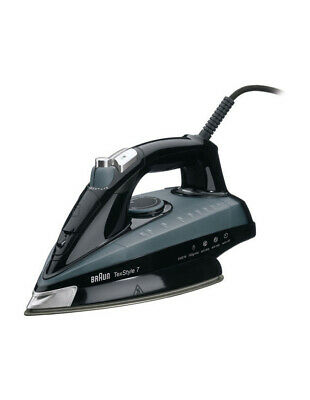 NEW Braun TS745A Texstyle 7 Steam Iron: Black