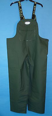 Dutch Harbor Gear HD202-GRN-XXL Quinault XXL Green Rain Pants New w/Tags