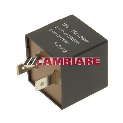 CITROEN Flasher Unit Indicator Relay VE725027 Cambiare Top Quality Replacement