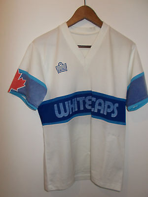 "Vancouver Whitecaps , "" Admiral""   Football Shirt (Size M/s)"