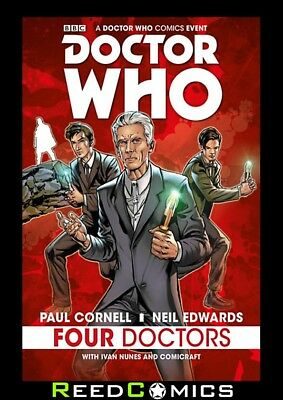 DOCTOR WHO 2015 FOUR DOCTORS HARDCOVER New Hardback Collects Four Doctors #1-5