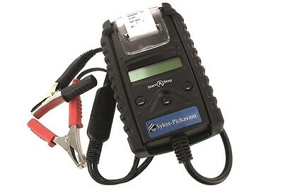 Sykes Pickavant Start & Stop Battery & Electrical Systems Tester c/w Printer