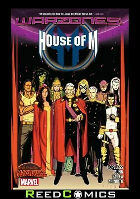 HOUSE OF M WARZONES GRAPHIC NOVEL New Paperback Collects Issues #1-4
