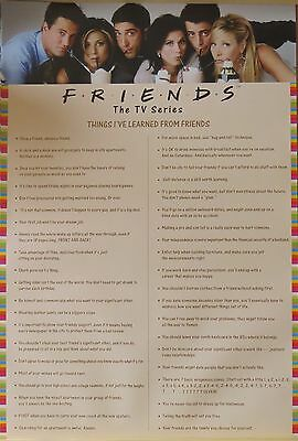 Friends-TV Series-Things I Learned-Pink-Licensed POSTER-91cm x 61cm-Brand New