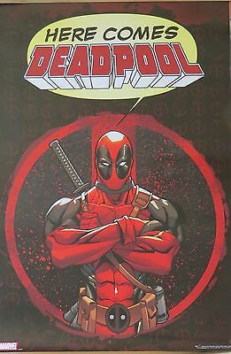 Deadpool - Here Comes Deadpool-Licensed POSTER-91cm x 61cm-Brand New