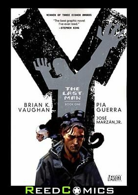 Y THE LAST MAN BOOK 1 GRAPHIC NOVEL New Edition Paperback Collects Issues #1-10