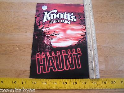 "Knotts Scary Farm Halloween Haunt cast members 5x7"" photo in frame"