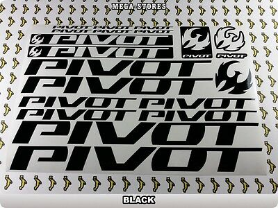 PIVOT Stickers Decals  Bicycles Bikes Cycles Frames Forks Mountain MTB BMX 55X