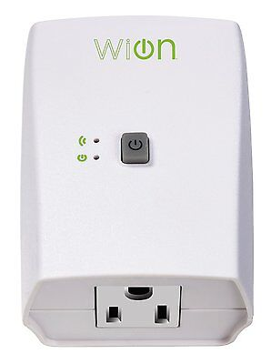 WiOn 50050 Indoor Wi-Fi Outlet, Wireless Switch, Programmable Timer NEW