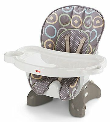 Fisher-Price Space Saver High Chair, Booster Seat, Baby Feeding, Luminosity NEW