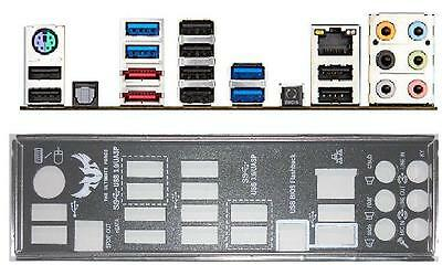 ATX Blende I/O shield Asus Sabertooth 990FX/Gen3 R2.0 #528 io NEU backplate NEW