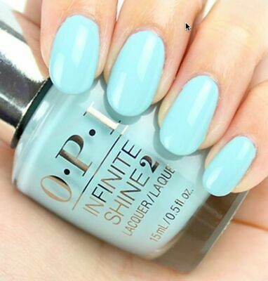 OPI Infinite Shine Nail Polish Lacquer Enamel ISL33 Eternally Turquoise 15ml