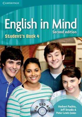 English in Mind Level 4 Student's Book with DVD-ROM by Jeff Stranks, Herbert...