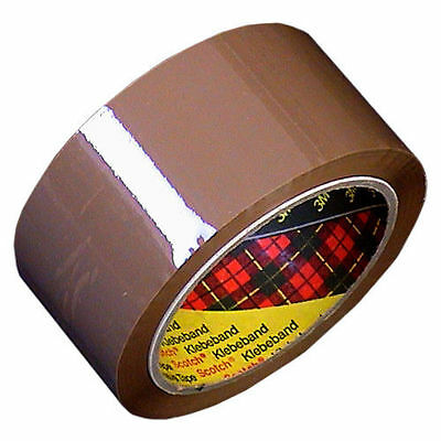 * 3M SCOTCH Packing Tape Brown or Clear 48 mm x 66 m Per Roll