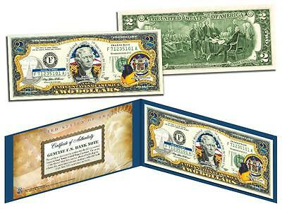 MARYLAND Statehood $2 Two-Dollar Colorized U.S. Bill MD State *Legal Tender*